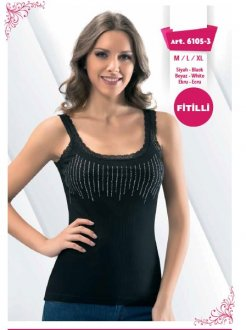 S-6105 FİTİLLİ ATLET